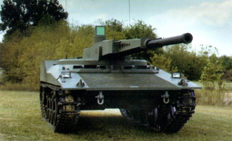 دبابة RDF / LT ARES خفيفة الوزن 14-ton