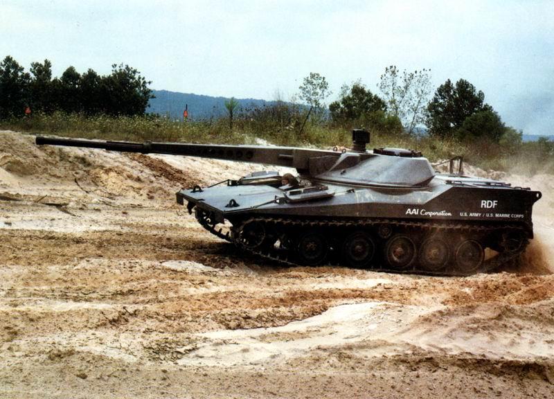 دبابة RDF / LT ARES خفيفة الوزن LightTank