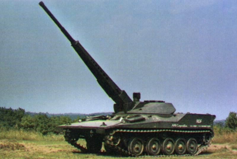 دبابة RDF / LT ARES خفيفة الوزن RDF2