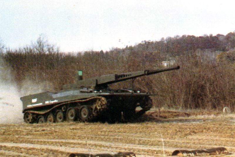 دبابة RDF / LT ARES خفيفة الوزن RDF3