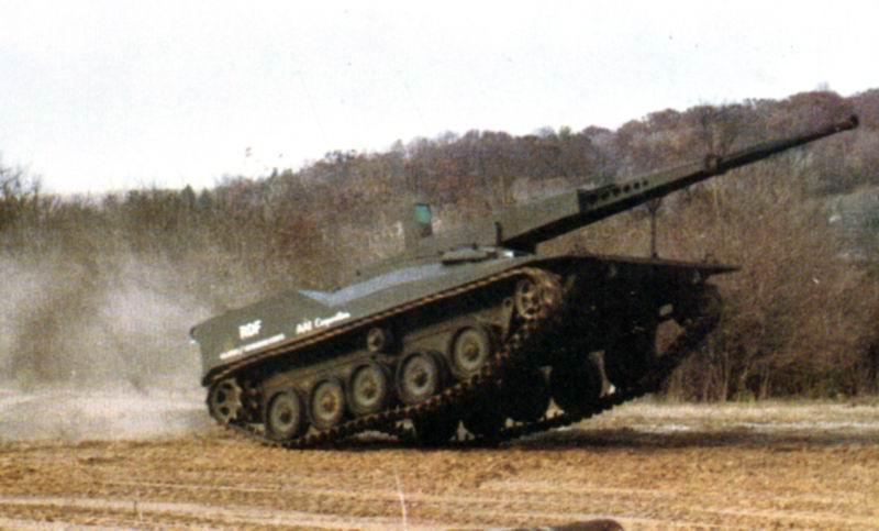 دبابة RDF / LT ARES خفيفة الوزن RDF4