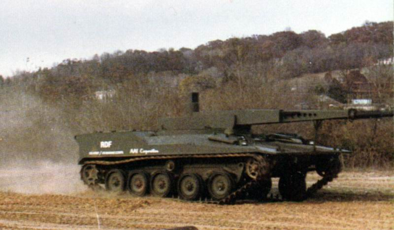 دبابة RDF / LT ARES خفيفة الوزن RDF5