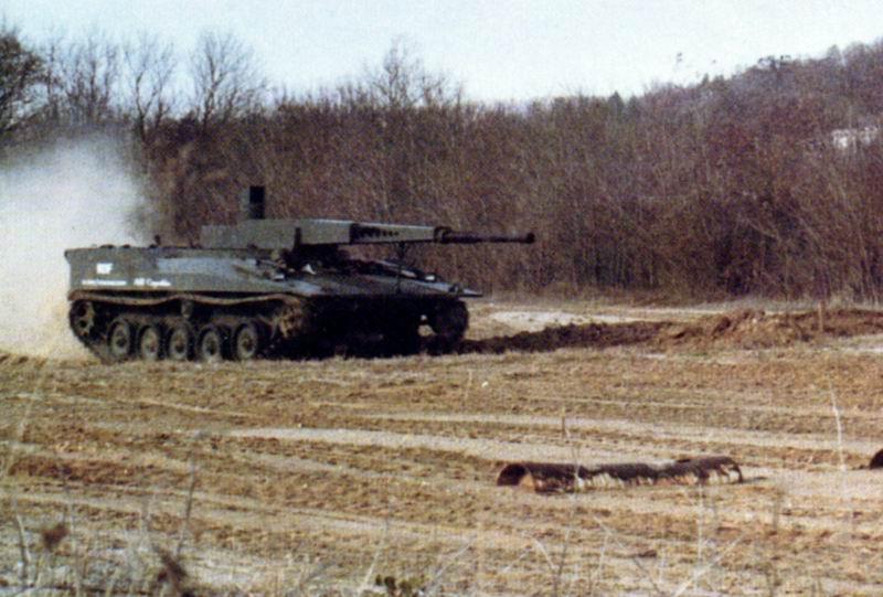 دبابة RDF / LT ARES خفيفة الوزن RDF6